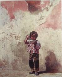 中国少女 油彩 100号 1980 当館.JPG