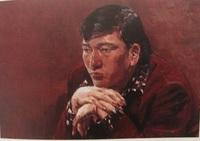男性肖像 油彩 20号 1972 当館蔵.JPG