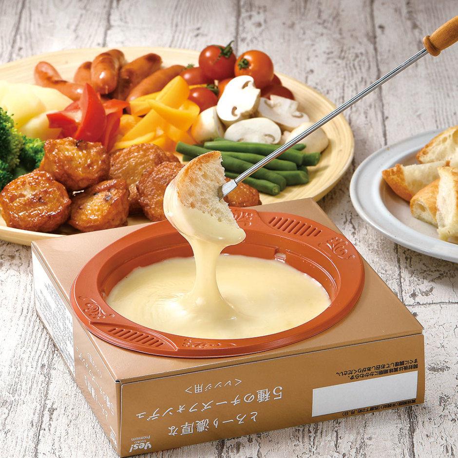 フォンデュ レンジ チーズ